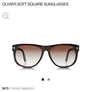 "NWOT Tom Ford ""Oliver"" Sunglasses"